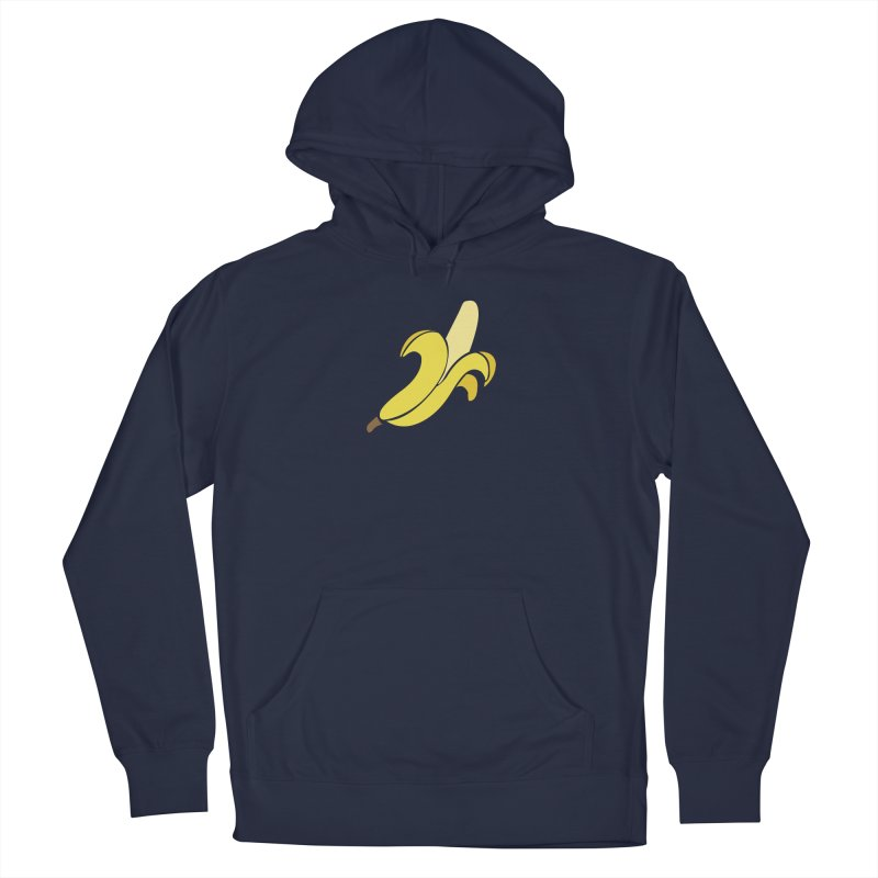 Banana Men's French Terry Pullover Hoody by Boshik's Tshirt Shop