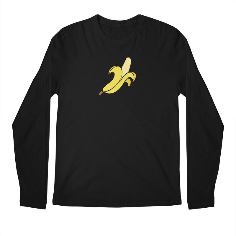 Banana Men's Regular Longsleeve T-Shirt by Boshik's Tshirt Shop
