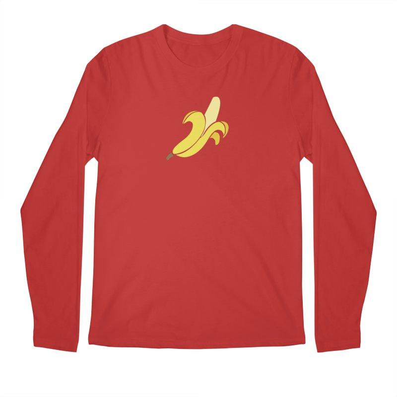 Banana Men's Regular Longsleeve T-Shirt by Boshik's Tshirt Shop