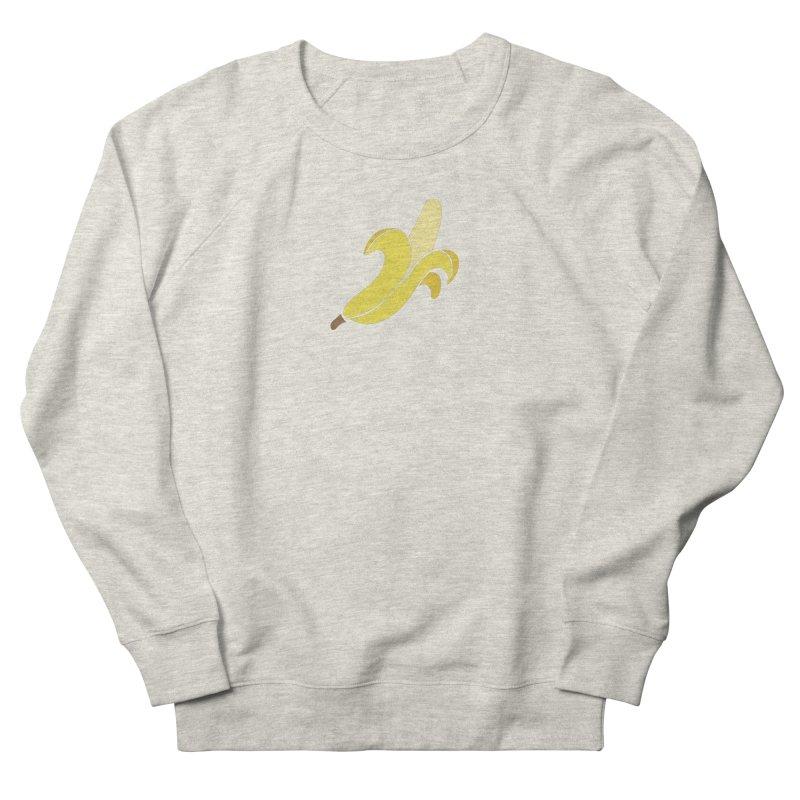Banana Women's French Terry Sweatshirt by Boshik's Tshirt Shop