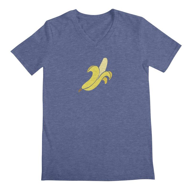 Banana Men's Regular V-Neck by Boshik's Tshirt Shop