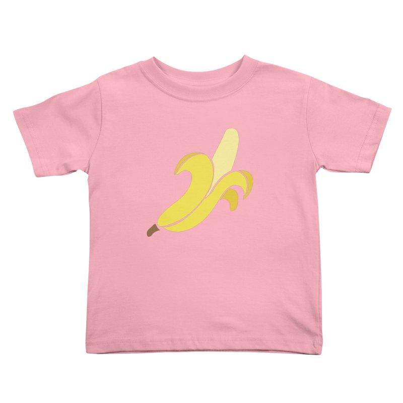 Banana Kids Toddler T-Shirt by Boshik's Tshirt Shop