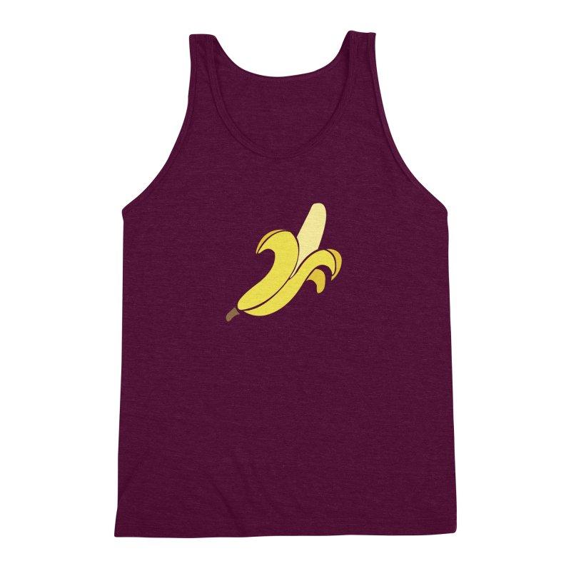 Banana Men's Triblend Tank by Boshik's Tshirt Shop