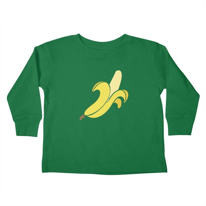 Banana Kids Toddler Longsleeve T-Shirt by Boshik's Tshirt Shop