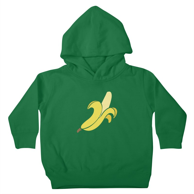 Banana Kids Toddler Pullover Hoody by Boshik's Tshirt Shop