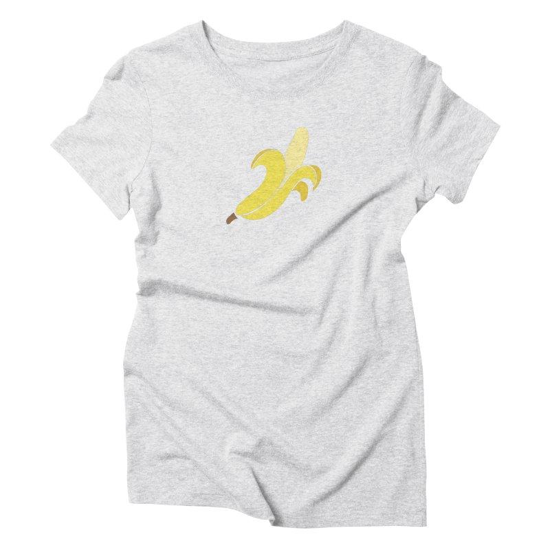 Banana Women's Triblend T-Shirt by Boshik's Tshirt Shop