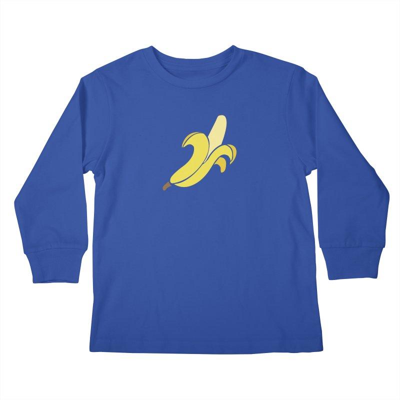 Banana Kids Longsleeve T-Shirt by Boshik's Tshirt Shop