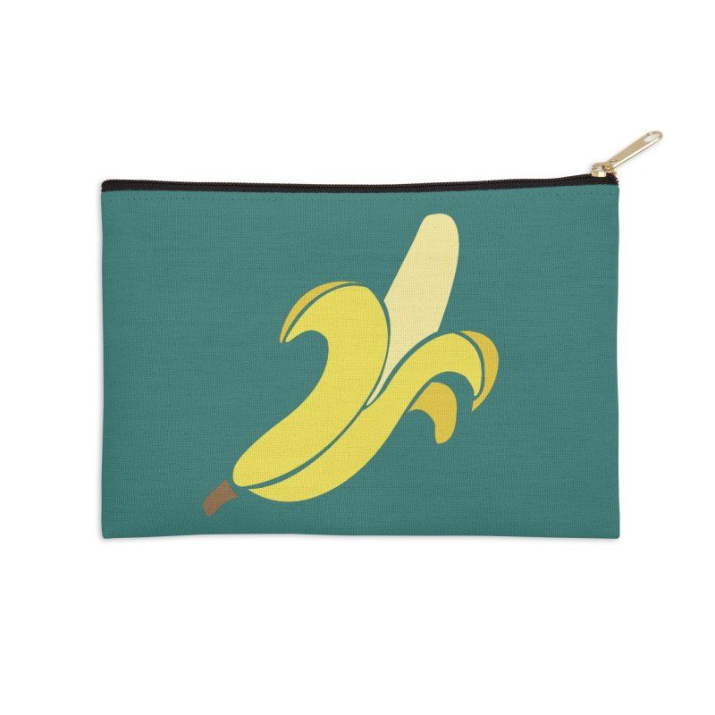 Banana Accessories Zip Pouch by Boshik's Tshirt Shop