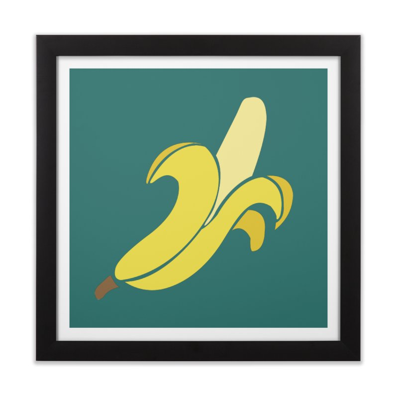 Banana Home Framed Fine Art Print by Boshik's Tshirt Shop