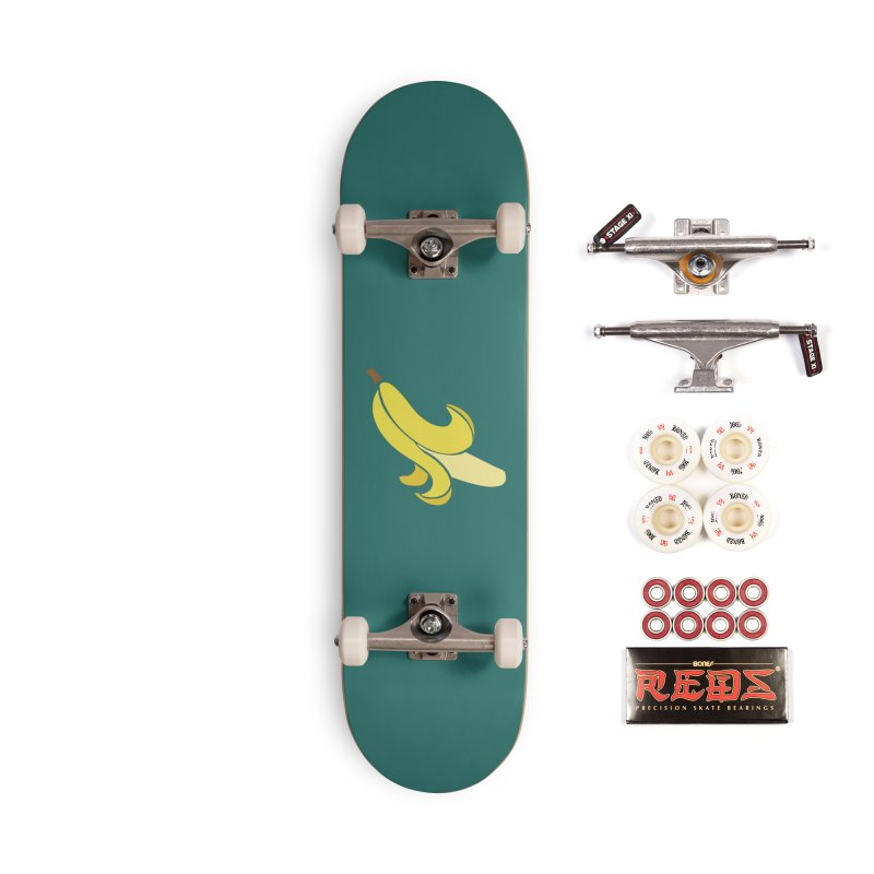 Banana Accessories Complete - Pro Skateboard by Boshik's Tshirt Shop
