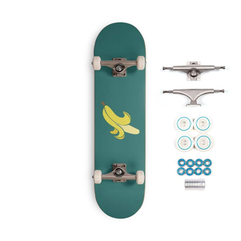 Banana Accessories Complete - Basic Skateboard by Boshik's Tshirt Shop