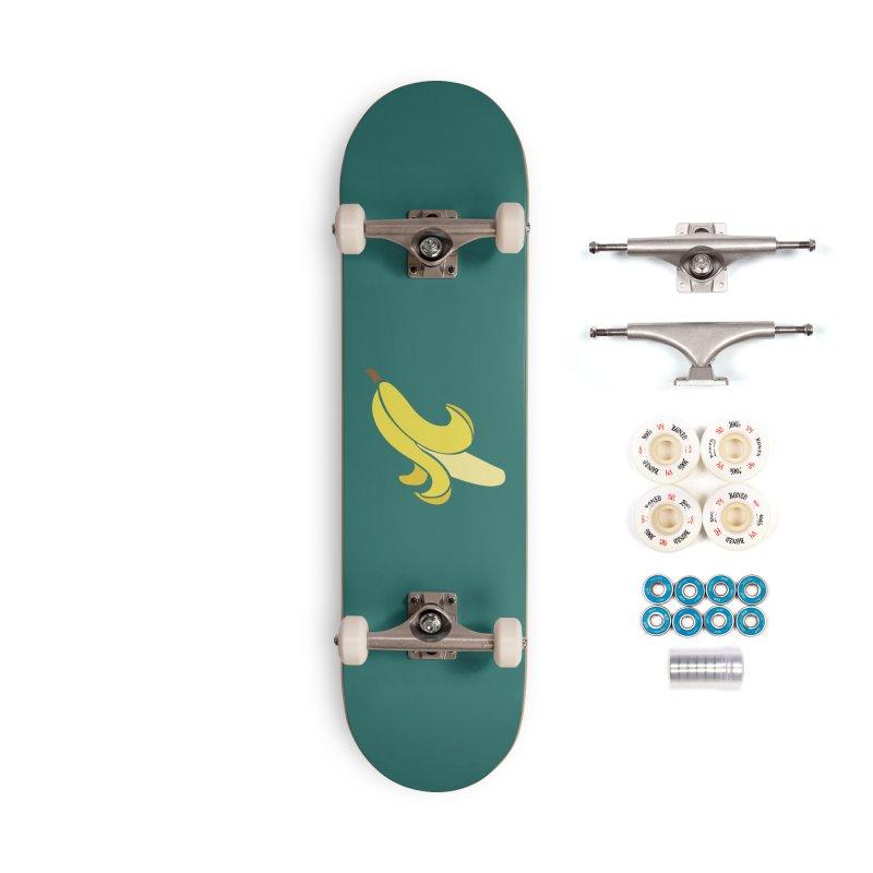 Banana Accessories Complete - Premium Skateboard by Boshik's Tshirt Shop