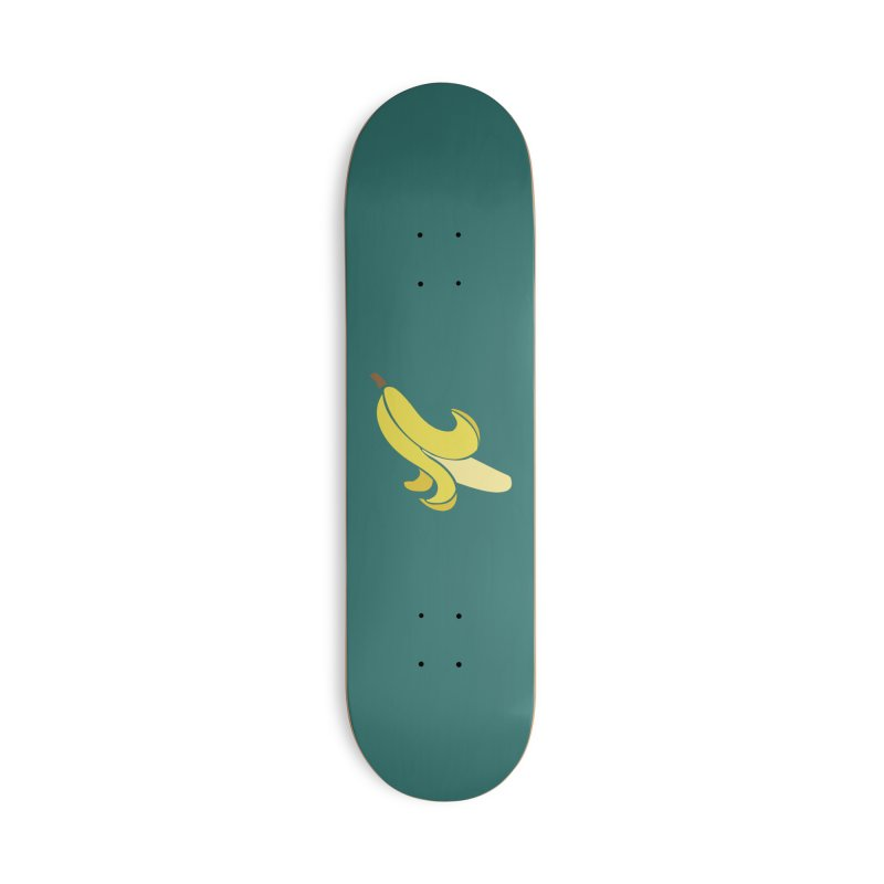 Banana Accessories Deck Only Skateboard by Boshik's Tshirt Shop