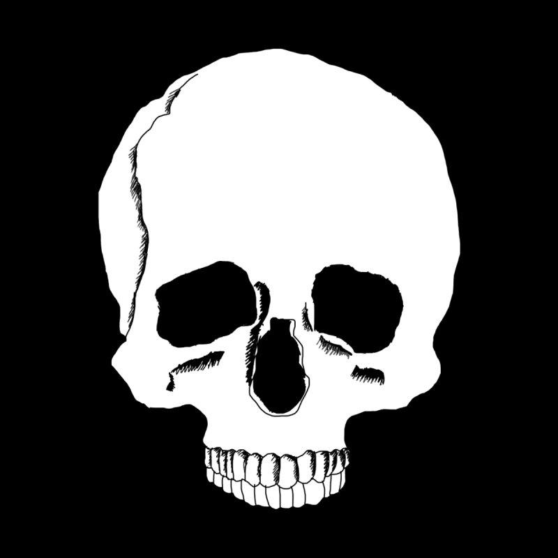 Skull Women's Scoop Neck by Boshik's Tshirt Shop