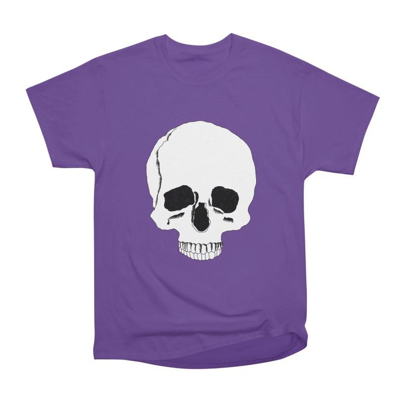 Skull Men's Heavyweight T-Shirt by Boshik's Tshirt Shop