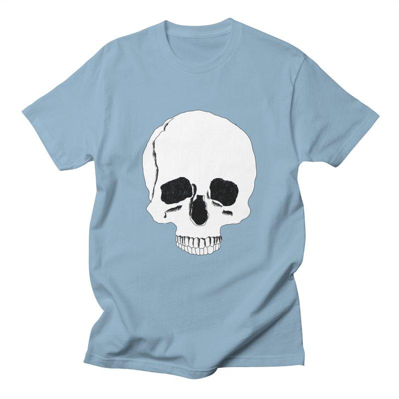 Skull Men's Regular T-Shirt by Boshik's Tshirt Shop