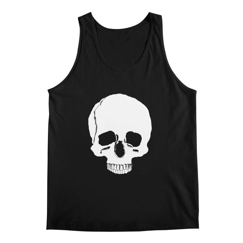 Skull Men's Regular Tank by Boshik's Tshirt Shop