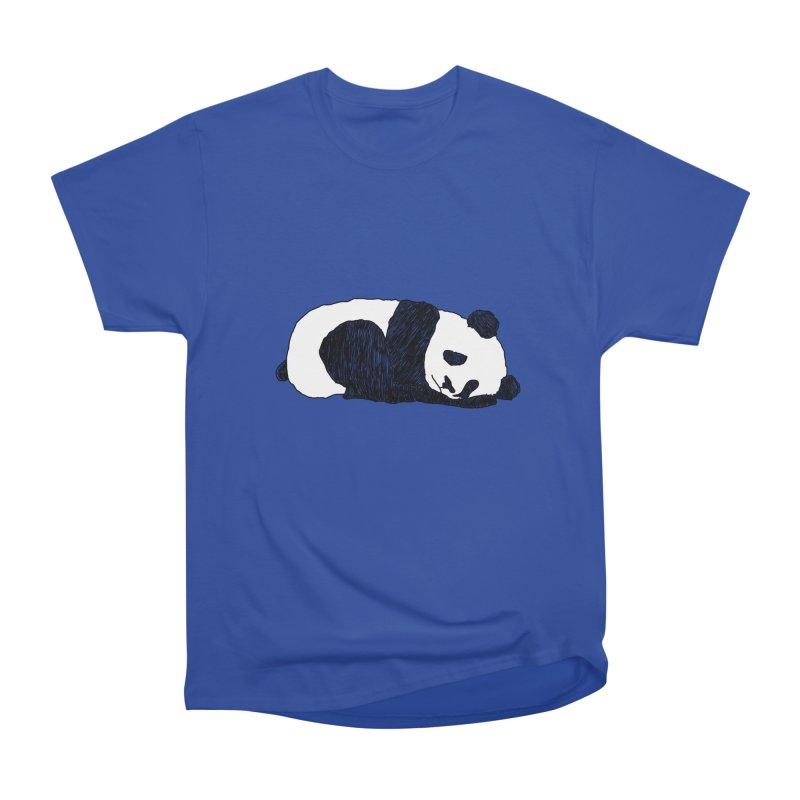 Sleeping panda Men's Heavyweight T-Shirt by Boshik's Tshirt Shop