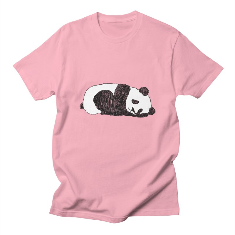 Sleeping panda Men's Regular T-Shirt by Boshik's Tshirt Shop