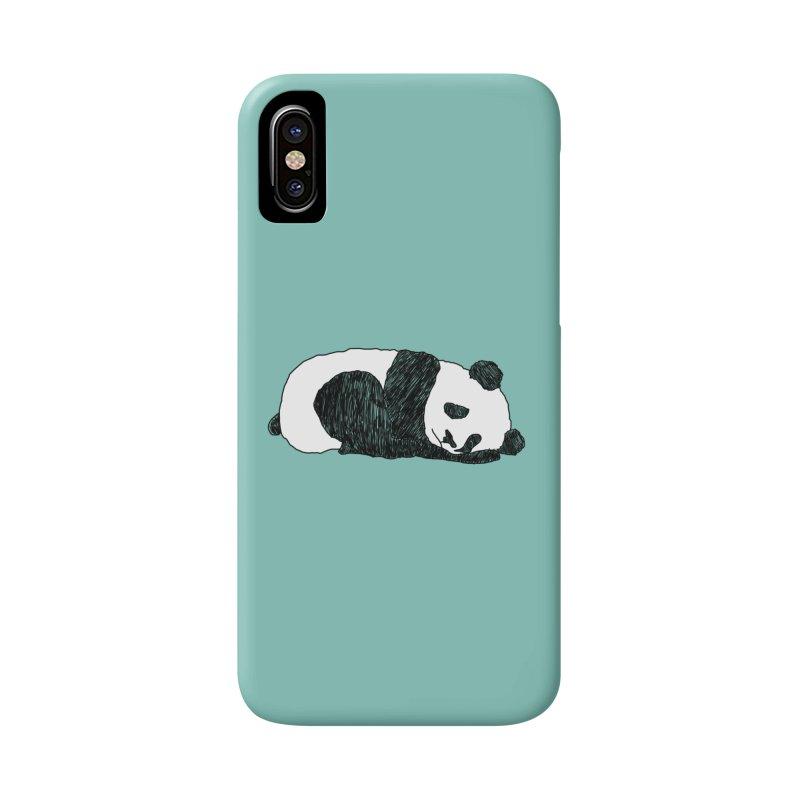 Sleeping panda Accessories Beach Towel by Boshik's Tshirt Shop