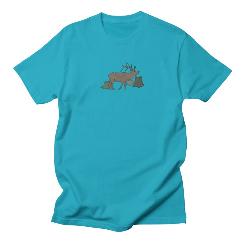 Bull Alk Men's Regular T-Shirt by Boshik's Tshirt Shop