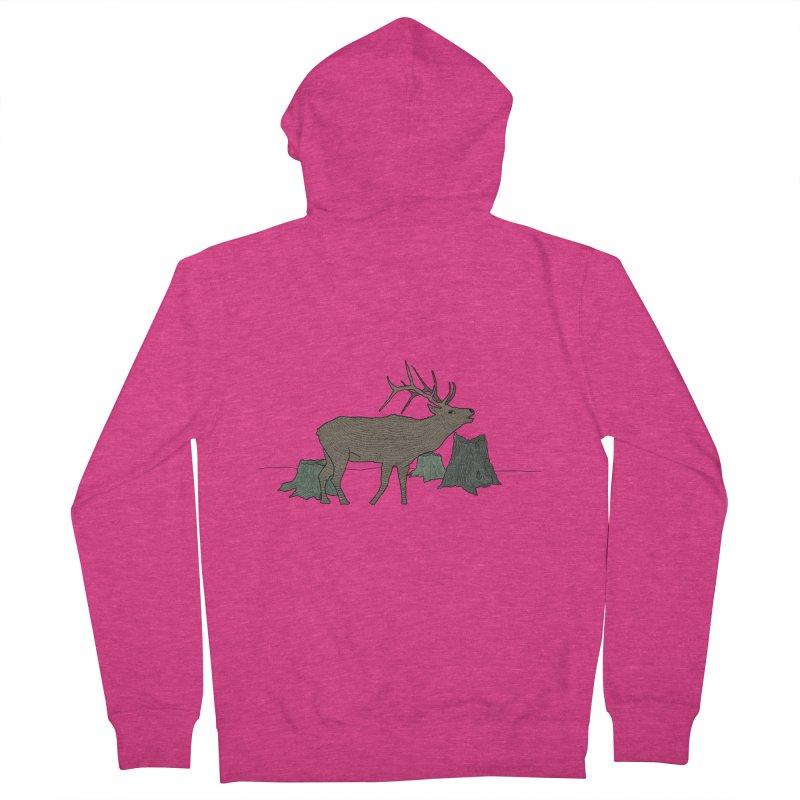 Bull Alk Women's Zip-Up Hoody by Boshik's Tshirt Shop