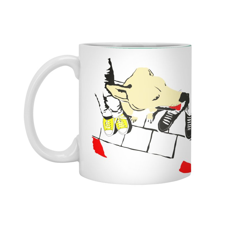 Sneakers & Dogs Accessories Standard Mug by Boshik's Tshirt Shop