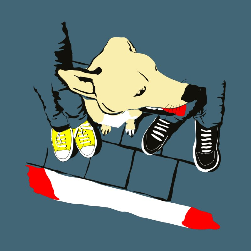 Sneakers & Dogs None  by Boshik's Tshirt Shop