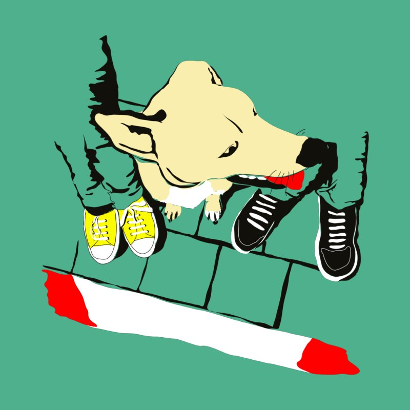 Sneakers & Dogs Men's T-Shirt by Boshik's Tshirt Shop