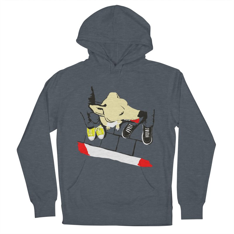 Sneakers & Dogs Men's French Terry Pullover Hoody by Boshik's Tshirt Shop