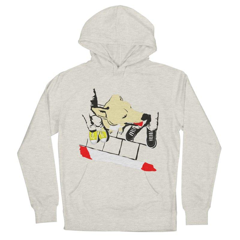 Sneakers & Dogs Men's Pullover Hoody by Boshik's Tshirt Shop