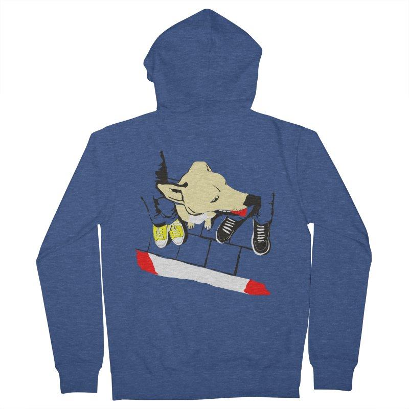 Sneakers & Dogs Women's Zip-Up Hoody by Boshik's Tshirt Shop