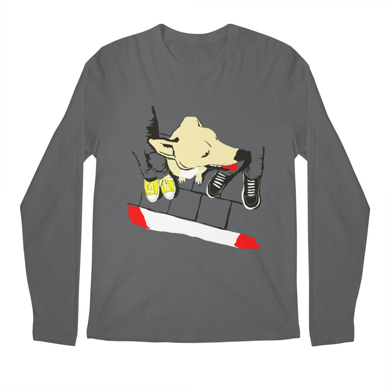 Sneakers & Dogs Men's Longsleeve T-Shirt by Boshik's Tshirt Shop