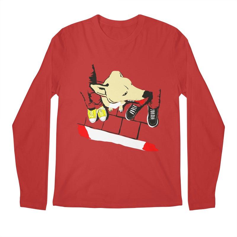 Sneakers & Dogs Men's Regular Longsleeve T-Shirt by Boshik's Tshirt Shop