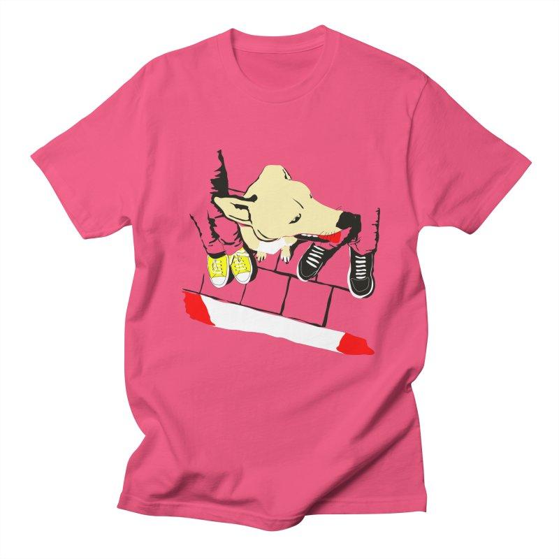 Sneakers & Dogs Men's T-Shirt by Boshik's Tshirt Shop