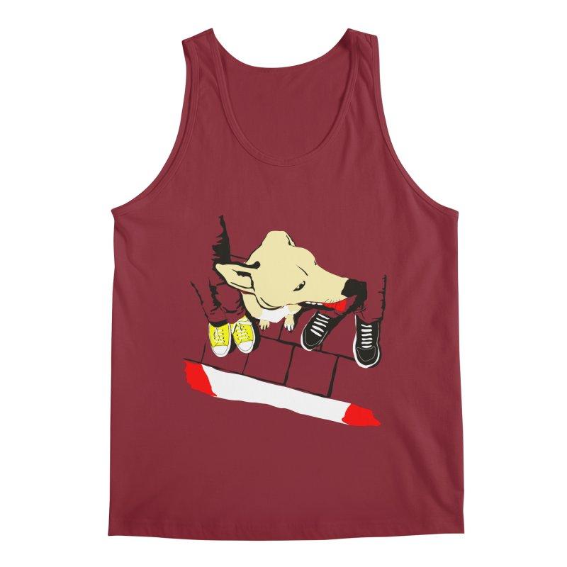 Sneakers & Dogs Men's Tank by Boshik's Tshirt Shop