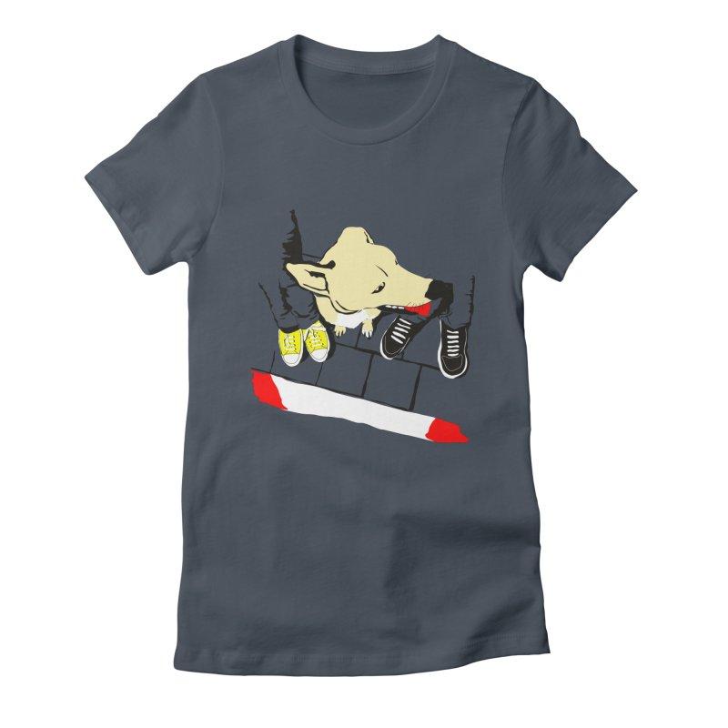 Sneakers & Dogs Women's T-Shirt by Boshik's Tshirt Shop