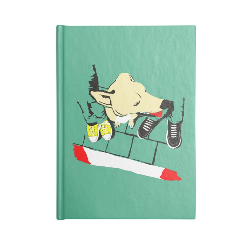 Sneakers & Dogs Accessories Notebook by Boshik's Tshirt Shop