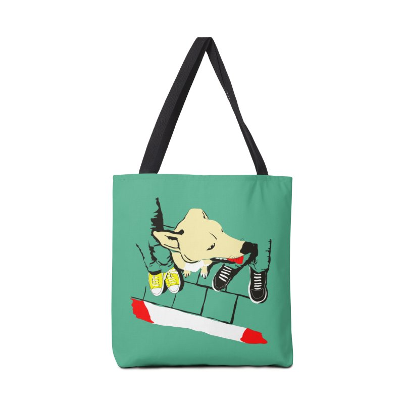 Sneakers & Dogs Accessories Tote Bag Bag by Boshik's Tshirt Shop