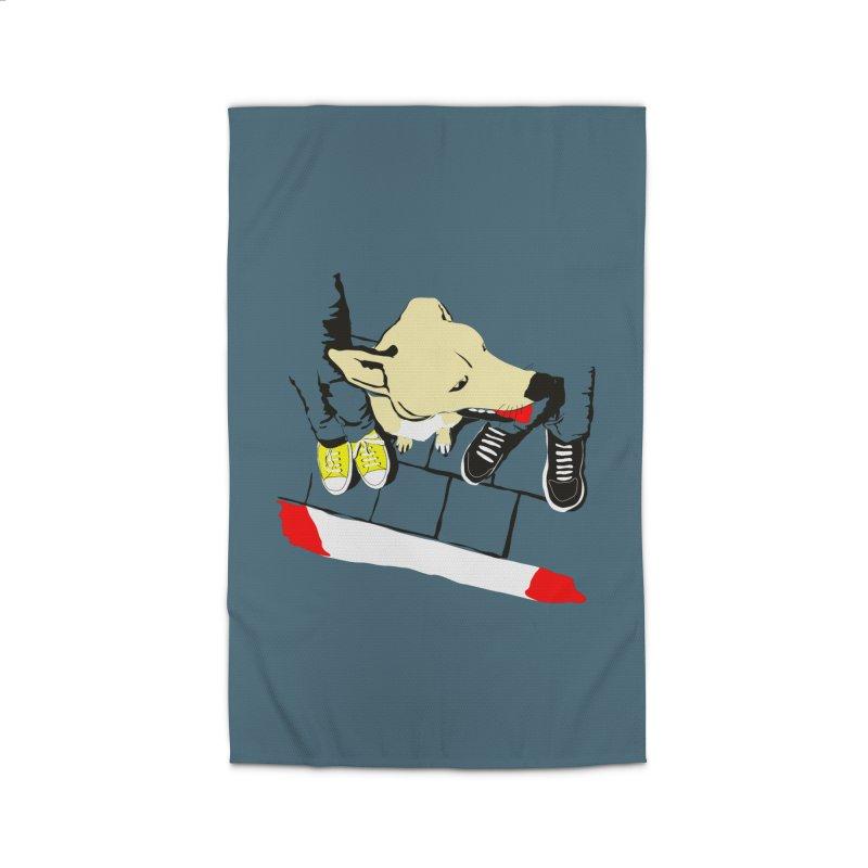 Sneakers & Dogs Home Rug by Boshik's Tshirt Shop