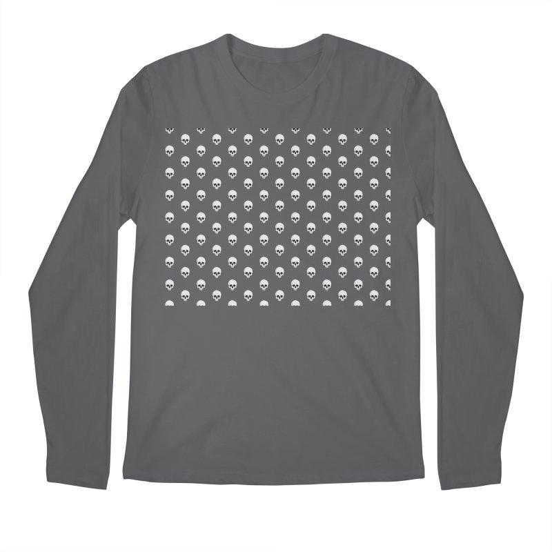 Skull Texture Men's Longsleeve T-Shirt by Boshik's Tshirt Shop