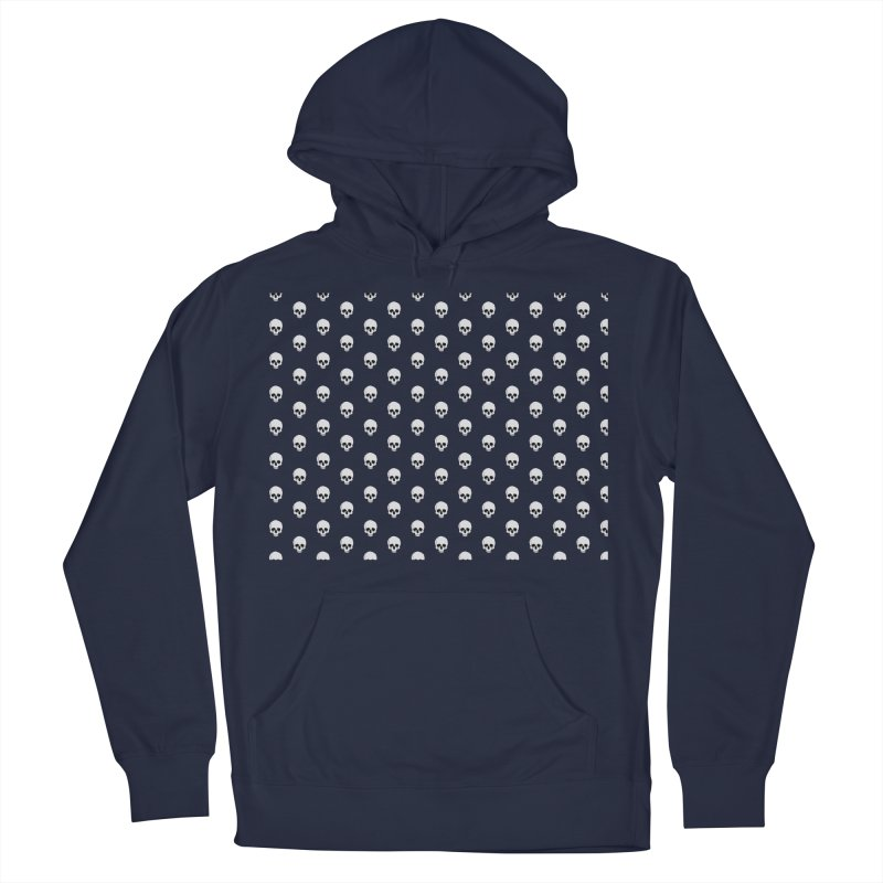 Skull Texture Men's French Terry Pullover Hoody by Boshik's Tshirt Shop