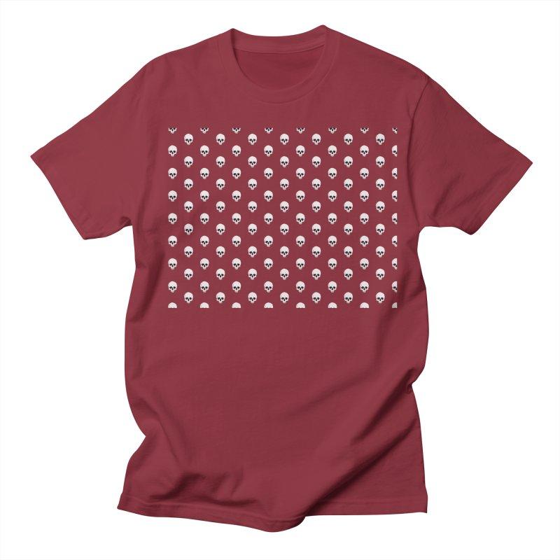 Skull Texture Men's T-Shirt by Boshik's Tshirt Shop