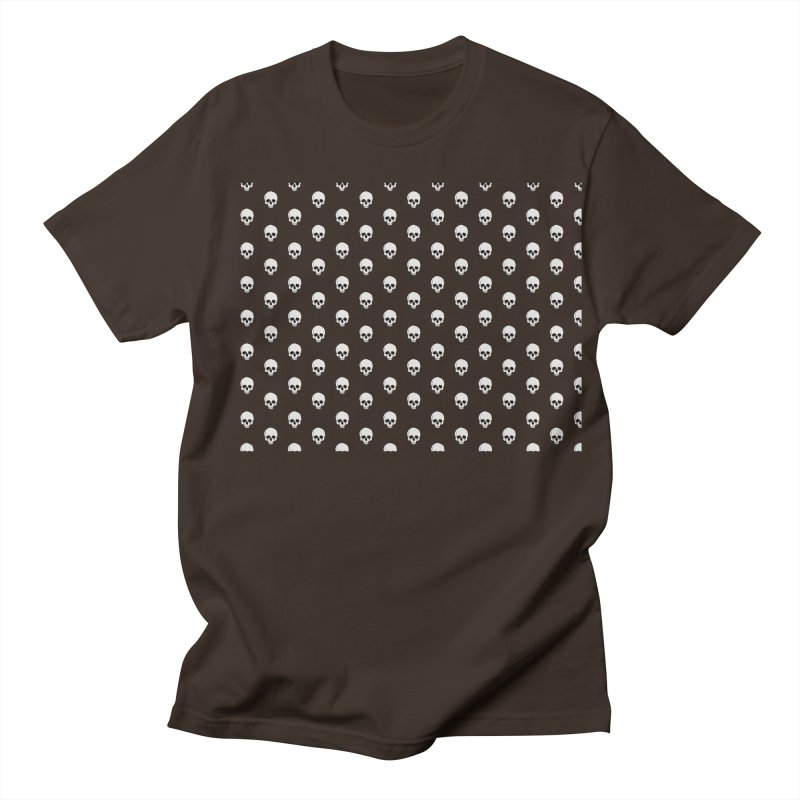 Skull Texture Men's Regular T-Shirt by Boshik's Tshirt Shop