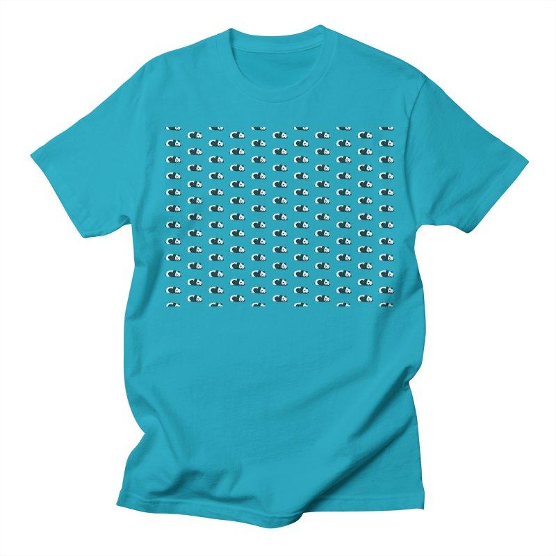 Panda Pattern Women's Regular Unisex T-Shirt by Boshik's Tshirt Shop