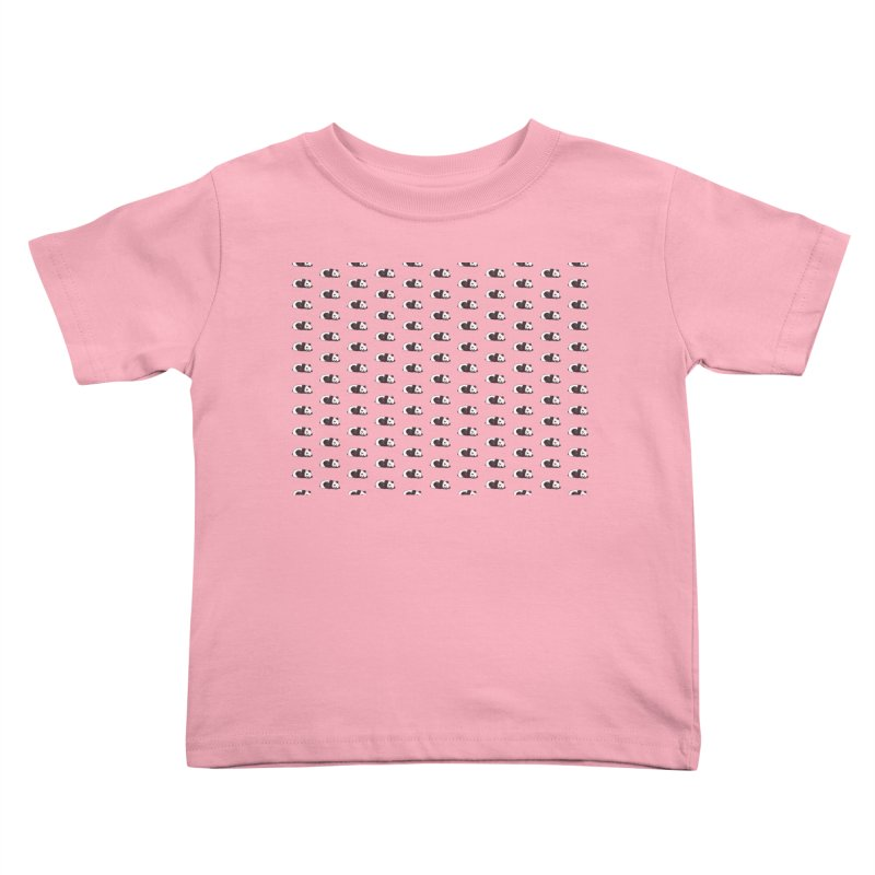 Panda Pattern Kids Toddler T-Shirt by Boshik's Tshirt Shop