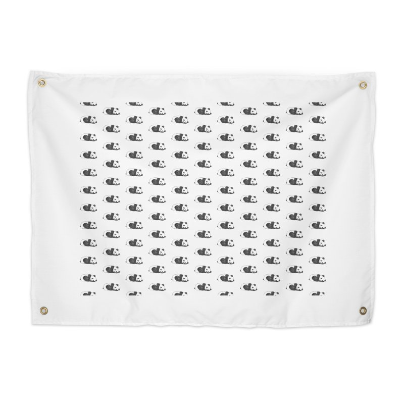Panda Pattern Home Tapestry by Boshik's Tshirt Shop