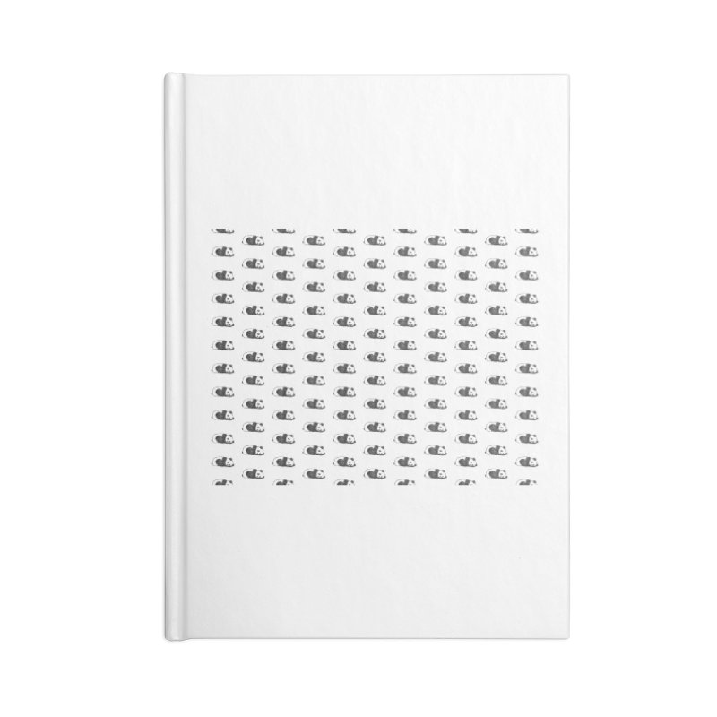 Panda Pattern Accessories Blank Journal Notebook by Boshik's Tshirt Shop