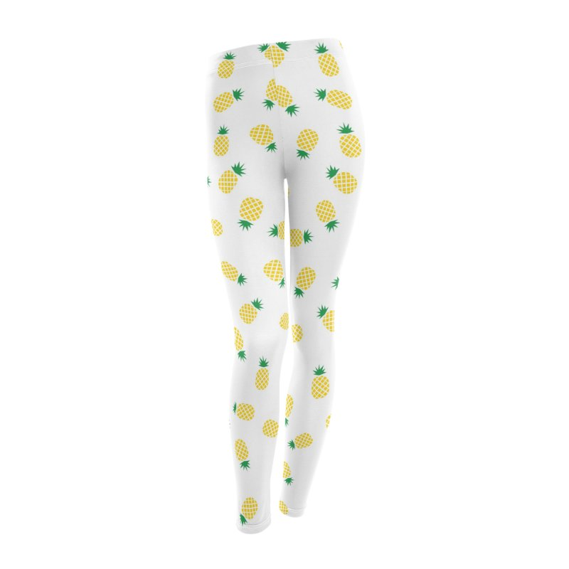 Pineapples Everywhere Women's Leggings Bottoms by Boshik's Tshirt Shop