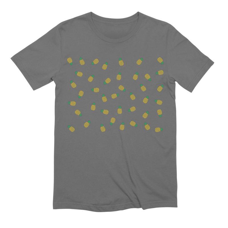 Pineapples Everywhere Men's T-Shirt by Boshik's Tshirt Shop